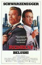 Red Heat movie poster [Arnold Schwarzenegger & James Belushi] 27 X 41