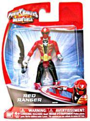 Power Rangers Super MegaForce: Red Ranger action figure (BanDai)