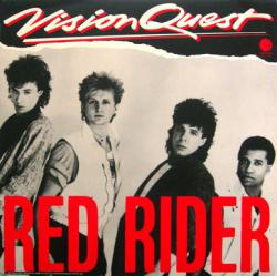Red Rider poster: Vision Quest soundtrack vintage LP/Album flat