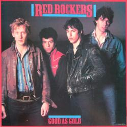 Red Rockers poster: Good as Gold vintage LP/Album flat (1983)