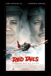 Red Tails movie poster [Cuba Gooding Jr. & Terrence Howard]