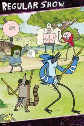 Regular Show poster: Rake Solo (24'' X 36'') Cartoon Network