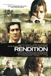 Rendition movie poster /Jake Gyllenhaal/Reese Witherspoon/Meryl Streep