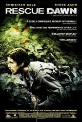 Rescue Dawn movie poster [Christian Bale] a Werner Herzog film