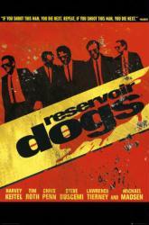 Reservoir Dogs movie poster [a Quentin Tarantino film] 24x36