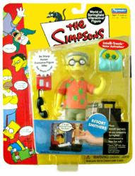 The Simpsons Series 10: Resort Smithers action figure (Playmates/2002)