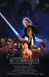 Return of the Jedi movie poster (27x39 reproduction)