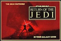 Return of the Jedi movie poster (36x24) Star Wars