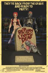 The Return of the Living Dead movie poster (1985) 24x36