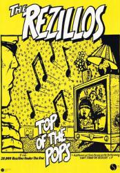 The Rezillos poster: Top of the Pops (23 1/2'' x 33'')