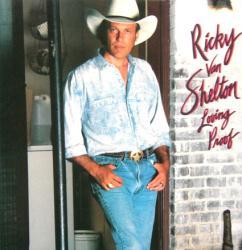 Ricky Van Shelton poster: Loving Proof vintage LP/album flat