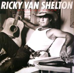 Ricky Van Shelton poster: Wild-Eyed Dream vintage LP/album flat