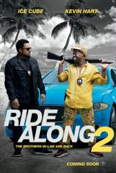 Ride Along 2 movie poster [Ice Cube, Kevin Hart] 27x40