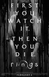 Rings movie poster (2017 horror film) 27x40 original