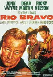 Rio Bravo movie poster [John Wayne, Dean Martin, Ricky Nelson] 27x39