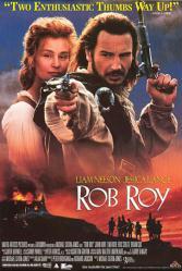 Rob Roy movie poster [Liam Neeson & Jessica Lange] video poster