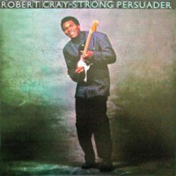 Robert Cray poster: Strong Persuader vintage LP/Album flat