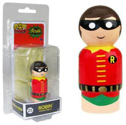 Batman Classic TV series: Robin Pin Mate #25 wooden figure