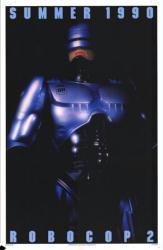 Robocop 2 movie poster [Peter Weller] 1990 original 27x41 advance