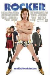 The Rocker movie poster [Rainn Wilson, Emma Stone & Teddy Geiger]