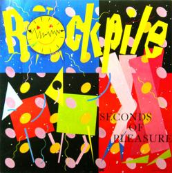 Rockpile poster: Seconds of Pleasure vintage LP/Album flat (1980)