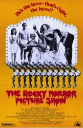 The Rocky Horror Picture Show movie poster [Tim Curry/Susan Sarandon]