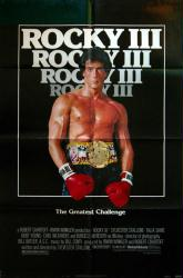Rocky III movie poster [Sylvester Stallone] original 27x41