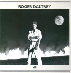 Roger Daltrey poster: Under a Raging Moon vintage LP/Album flat (1985)