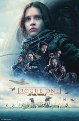 Rogue One: A Star Wars Story movie poster [Felicity Jones] 22x34