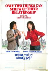Romantic Comedy movie poster [Dudley Moore & Mary Steenburgen] 1983
