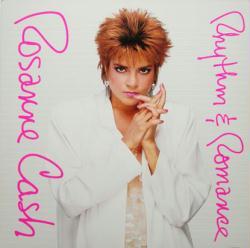 Rosanne Cash poster: Rhythm & Romance vintage LP/Album flat