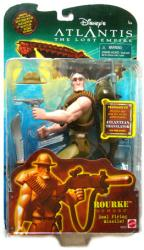Atlantis: The Lost Empire [Disney] 7'' Rourke figure (Mattel/2001)