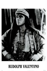 Rudolph Valentino poster: The Son of the Sheik (26x38)