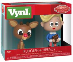 Rudolph the Red-Nosed Reindeer: Rudolph + Hermey Vynl figures (Funko)