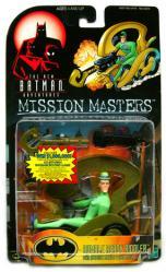 The New Batman Adventures: Rumble Ready Riddler figure (Hasbro/1999)
