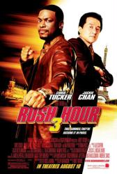 Rush Hour 3 movie poster [Chris Tucker & Jackie Chan]