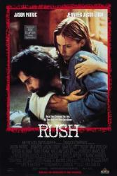 Rush movie poster [Jason Patric, Jennifer Jason Leigh] 27x40