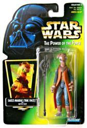 Star Wars [POTF] Saelt-Marae (Yak Face) action figure (Kenner/1997)