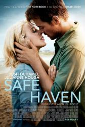 Safe Haven movie poster [Josh Duhamel, Julianne Hough] 27x40 original