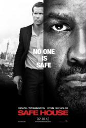 Safe House movie poster [Denzel Washington, Ryan Reynolds] 27x40