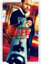 Safe movie poster [Jason Statham] original 27 X 40