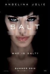 Salt movie poster [Angelina Jolie] original 27x40 advance