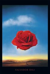 Salvador Dali poster: The Meditative Rose (24'' X 36'') New