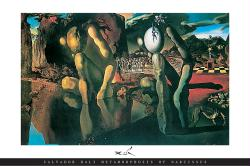 Salvador Dali poster: Metamorphosis of Narcissus (36'' X 24'') New