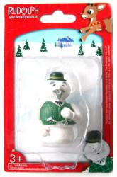 Rudolph the Red-Nosed Reindeer: 2 1/4'' Sam the Snowman figurine