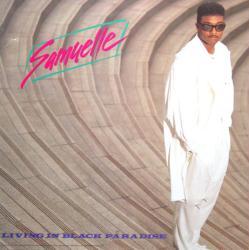 Samuelle poster: Living In Black Paradise vintage LP/Album flat