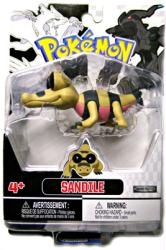 Pokemon Black and White: Sandile figure (JAKKS Pacific/2011)