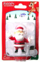 Rudolph the Red-Nosed Reindeer: 2 1/4'' Santa figurine