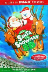 Santa vs. the Snowman 3-D (Video Movie Poster) NM