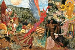 Santana poster: Abraxis (36x24) Mati Klarwein's Annunciation